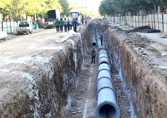 盐城水文巷污水管道改造工程