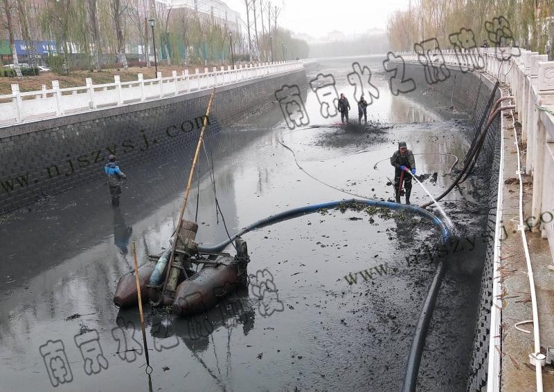 安徽滁州三里河清淤工程案例