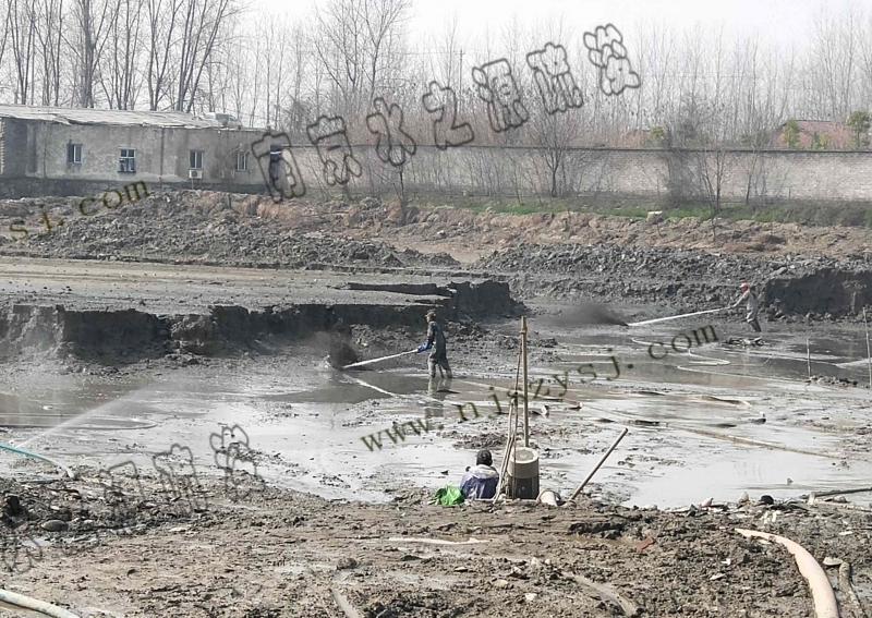 湖北武汉金潭湖清淤+淤泥固化工程案例