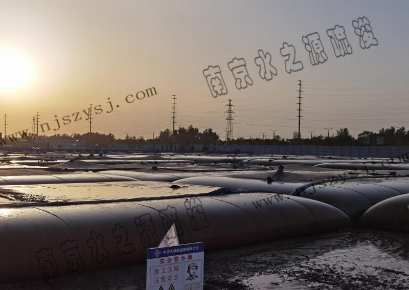菏泽市黑臭水体治理万花湖清淤与淤泥脱水干化工程案例