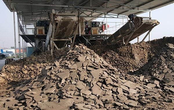 淤泥固化土块出口