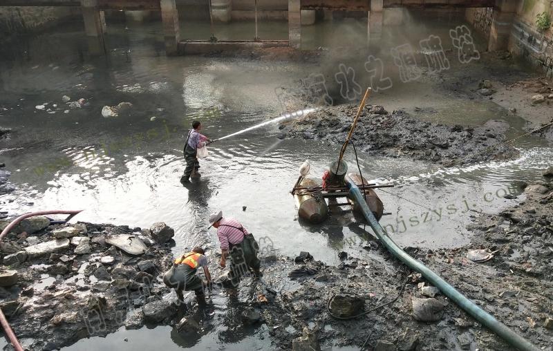 泥浆泵清淤
