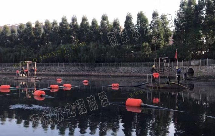 自制设备清淤(潜水泵绞吸)
